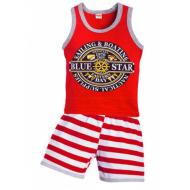 """11-372176 """"Blue Star"""" Комплект для мальчика, 3-7 лет, красный"""
