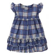 """11-37404 """"Шотландка"""" Платье для девочки, 3-7 лет"""