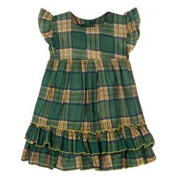 """11-37405 """"Шотландка"""" Платье для девочки, 3-7 лет"""