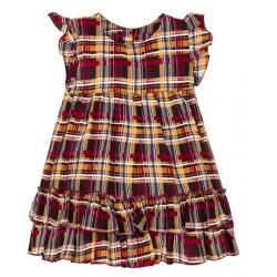 """11-37406 """"Шотландка"""" Платье для девочки, 3-7 лет"""