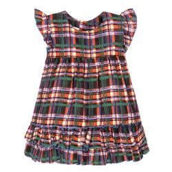 """11-37408 """"Шотландка"""" Платье для девочки, 3-7 лет"""