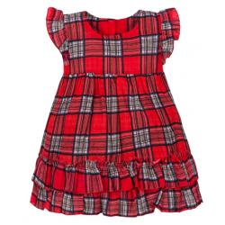 """11-37409 """"Шотландка"""" Платье для девочки, 3-7 лет"""