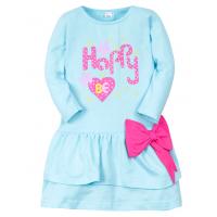 11-47801 Платье для девочки, 4-7 лет, бирюзовый