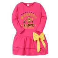 11-47802 Платье для девочки, 4-7 лет, розовый