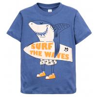 """11-580102 """"Surf"""" Футболка для мальчика, 6-9 лет, индиго"""