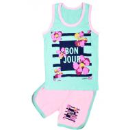 "11-582225 ""Bon Jour"" комплект летний для девочки, 5-8 лет"