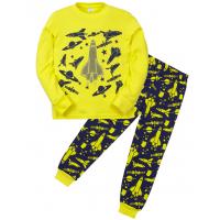 "11-588103 ""Air force"" Пижама для мальчика, 5-8 лет, желтый"