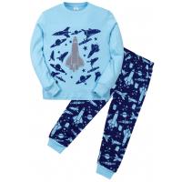 "11-588104 ""Air force"" Пижама для мальчика, 5-8 лет, голубой"