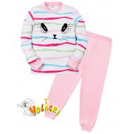 """11-588254 """"Beautiful"""" Пижама для девочки, 5-8 лет, розовый"""