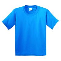 11-370107 футболка голубая 3-7 лет