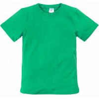 11-9120103 футболка однотонная, 9-12 лет, зеленый
