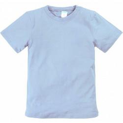 11-9120107 футболка однотонная, 8-12 лет, стальной