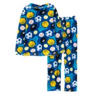 11-9128152 Пижама для мальчика, велсофт, 9-12 лет