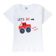 "11-1401297 ""Fun time"" футболка для мальчика, 0,9-4 года, белый"