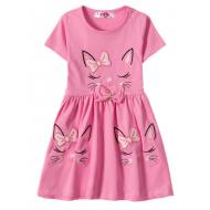 """12-37199-1 """"Sleeping Princess"""" Платье для девочки, 3-7 лет, розовый"""