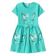 """12-37199-2 """"Sleeping Princess"""" Платье для девочки, 3-7 лет, мята"""
