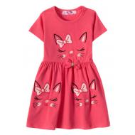 """12-37199-3 """"Sleeping Princess"""" Платье для девочки, 3-7 лет, фуксия"""