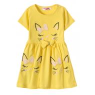 """12-37199-5 """"Sleeping Princess"""" Платье для девочки, 3-7 лет, жёлтый"""