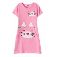 12-37201-2 Платье для девочки, 3-7 лет, розовый