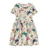 12-37205-3 Платье для девочки, 3-7 лет, бежевый