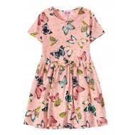 12-37205-2 Платье для девочки, 3-7 лет, розовый