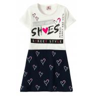 """12-3794-3 """"She's"""" Платье для девочки, 3-7 лет, белый"""