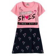 """12-3794-5 """"She's"""" Платье для девочки, 3-7 лет, розовый"""