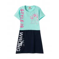 12-3790-3 Платье для девочки, 3-7 лет, мята
