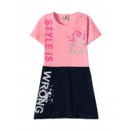 12-3790-7 Платье для девочки, 3-7 лет, розовый