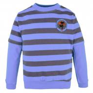 08-581107 Джемпер в полоску для мальчика, 5-8 лет, т.синий