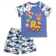 14-252108 Костюм для мальчика, 2-5 лет, синий