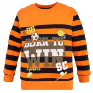 14-371112 Джемпер для мальчика, 3-7 лет, оранжевый