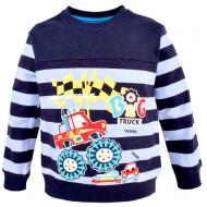 14-371114 Джемпер для мальчика, 3-7 лет, т-синий