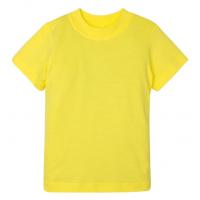 15-14001016 футболка однотонная 1-4 года, жёлтый