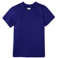 15-14005002 футболка однотонная 1-4 года, индиго