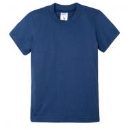 15-14005003 футболка однотонная 1-4 года, синий