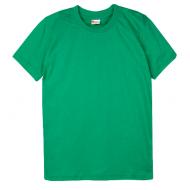 15-14006029 футболка однотонная 1-4 года, изумруд