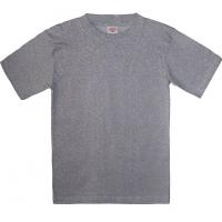 15-14007032 футболка однотонная 1-4 года, серый меланж