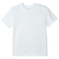 15-14009003 футболка однотонная 1-4 года, белый