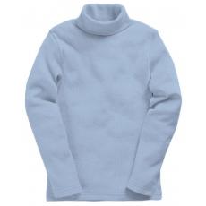 15-00102m Водолазка однотонная, голубой