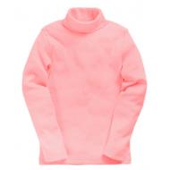 15-00204d Водолазка однотонная, св-розовый