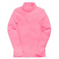 15-00205d Водолазка однотонная, розовый