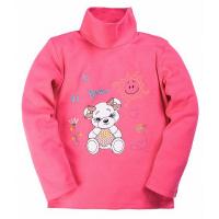 15-141402 Водолазка для девочки, 1-4 года, розовый