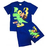 15-142189 Комплект для мальчика, 1-4 года, синий