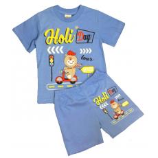 15-142190 Комплект для мальчика, 1-4 года, голубой