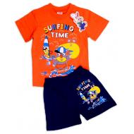 15-142197 Комплект для мальчика, 1-4 года, оранжевый\синий