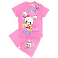 "15-142223 ""Thank You"" комплект, 1-4 года, розовый"