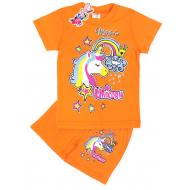 "15-142224 ""Unicorn"" комплект, 1-4 года, оранжевый"