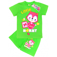 "15-142226 ""Little Mammy"" комплект, 1-4 года, салатовый"