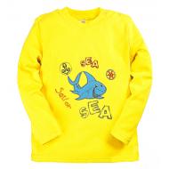 15-14528 Лонгслив для мальчика, 1-4 года, желтый